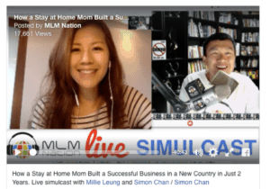 Millie Leung MLM Nation Interview