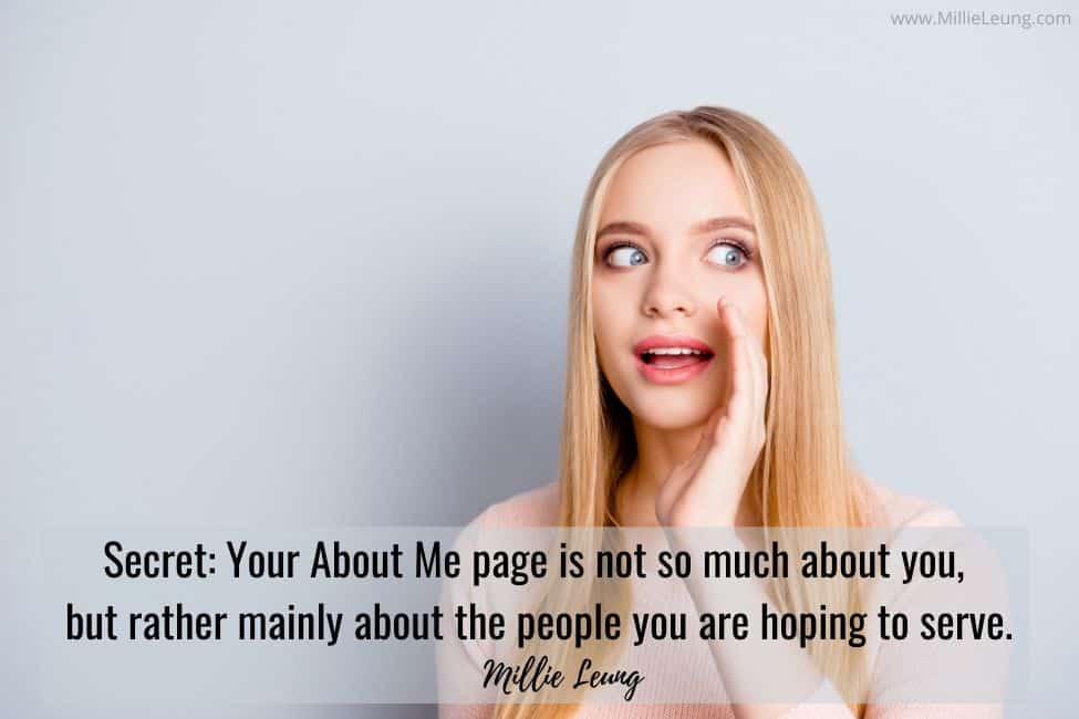 HOW TO WRITE A COMPELLING ABOUT ME PAGE FOR YOUR BLOG