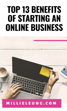 Top 13 Benefits of Starting an Online Business