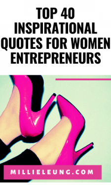 Top 40 Inspirational Quotes for Women Entrepreneurs